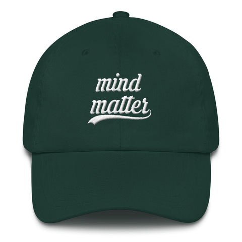 Mind over Matter Dad hat - OJBClothingstore
