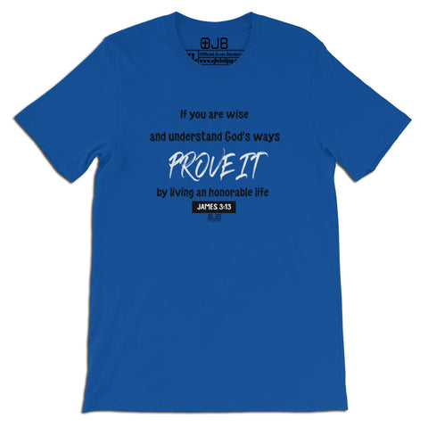 Prove It Christian T Shirt - OJBClothing - OJBClothingstore