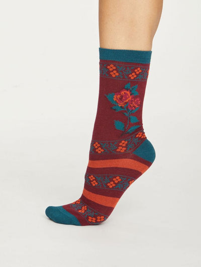 Calcetines Folk Floral 37-41