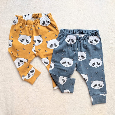 Leggings Panda Azul