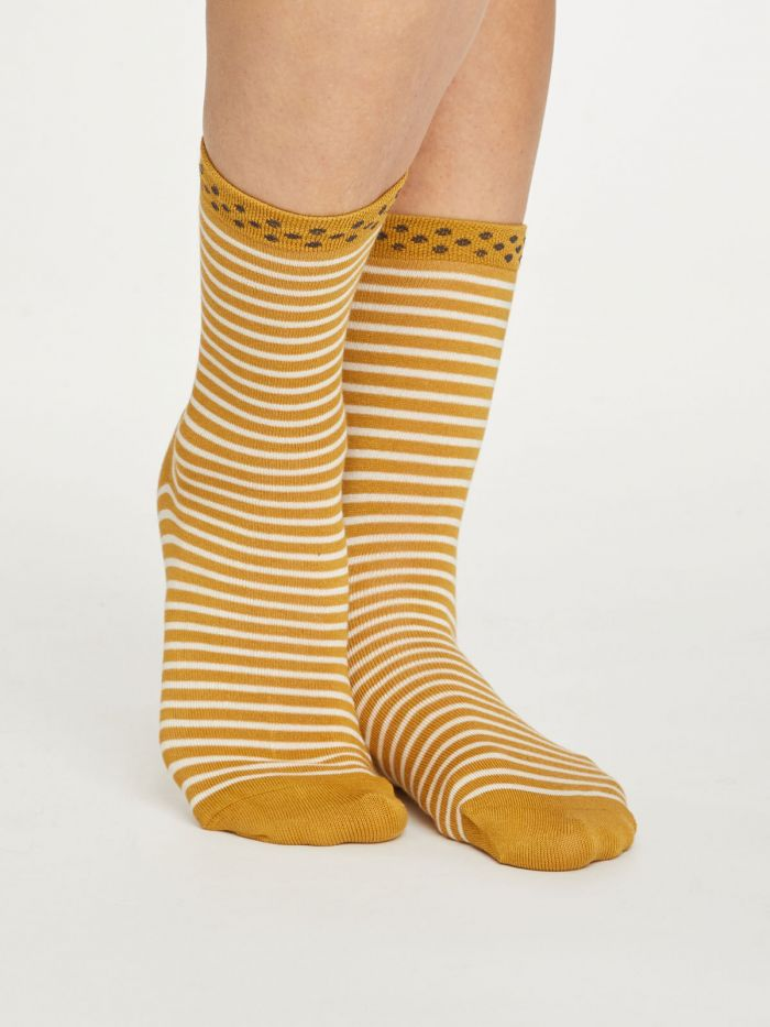 Calcetines Hedda Stripe Gold 37-41