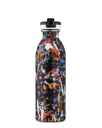 Botella Urban Graffiti Beat -Tapa Sport- 0,5L.