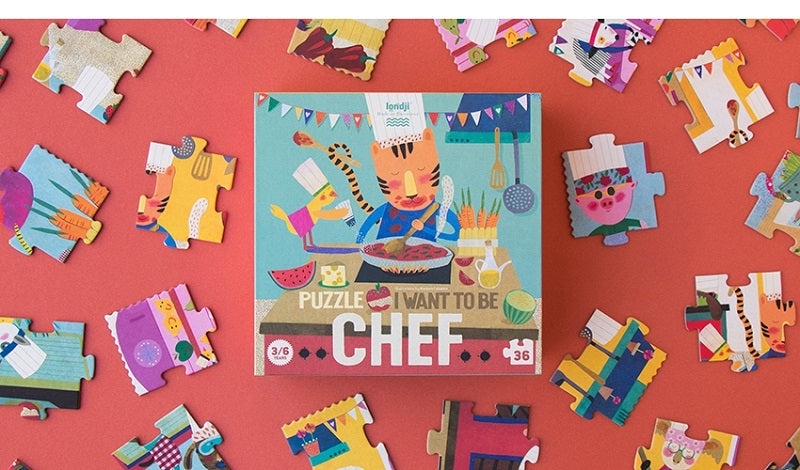 Puzzle I Want to be… Chef