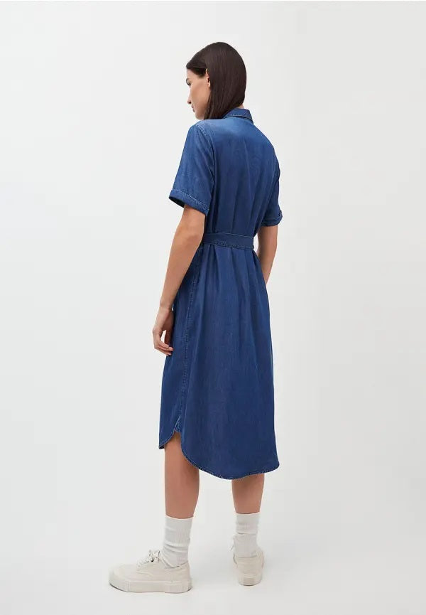 Vestido MAAISA Basic Denim Blue