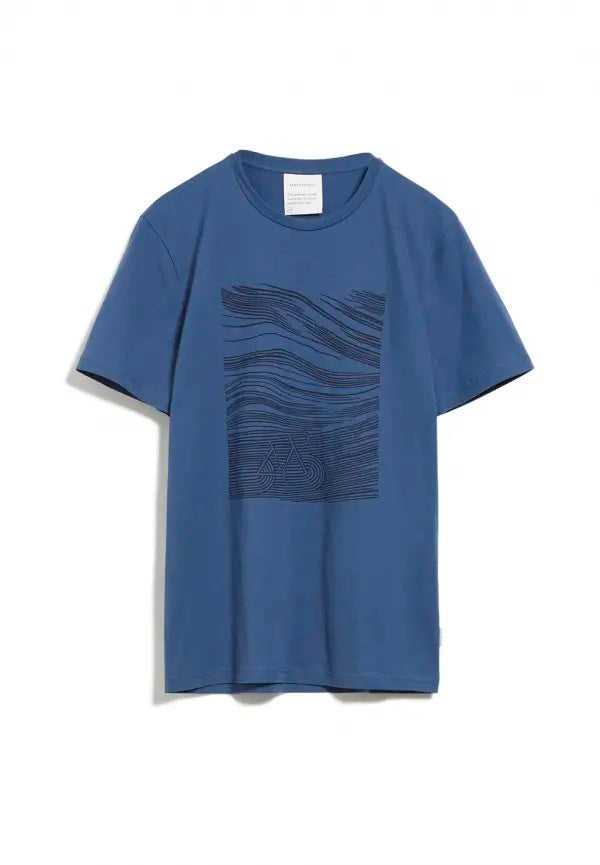 Camiseta JAAMES BICYCLE Deep Ocean Blue