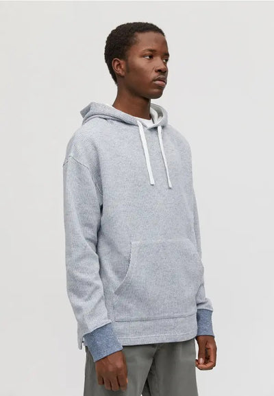 Sudadera BAAS STRIPES navy-off white