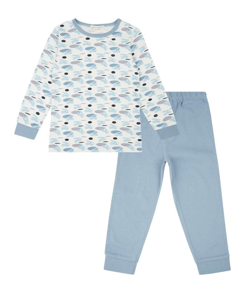 Pijama largo Retro John Planes & Faded Denim