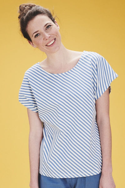Top Julia Diagonal-Stripes