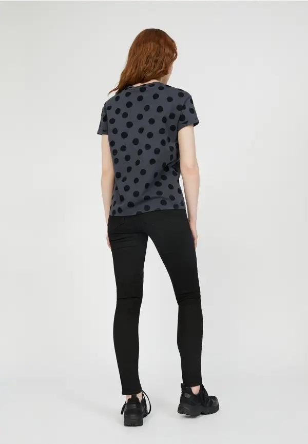 Camiseta Naalina Big Dots Antracita