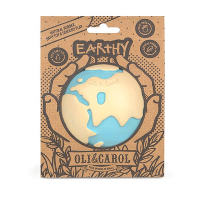 Mordedor de caucho Earthy the World Ball