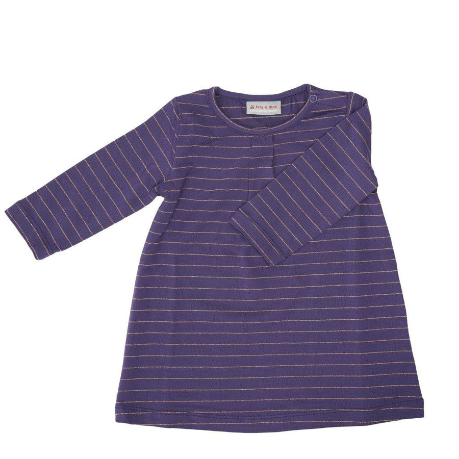 Vestido Rosana Stripes Purple