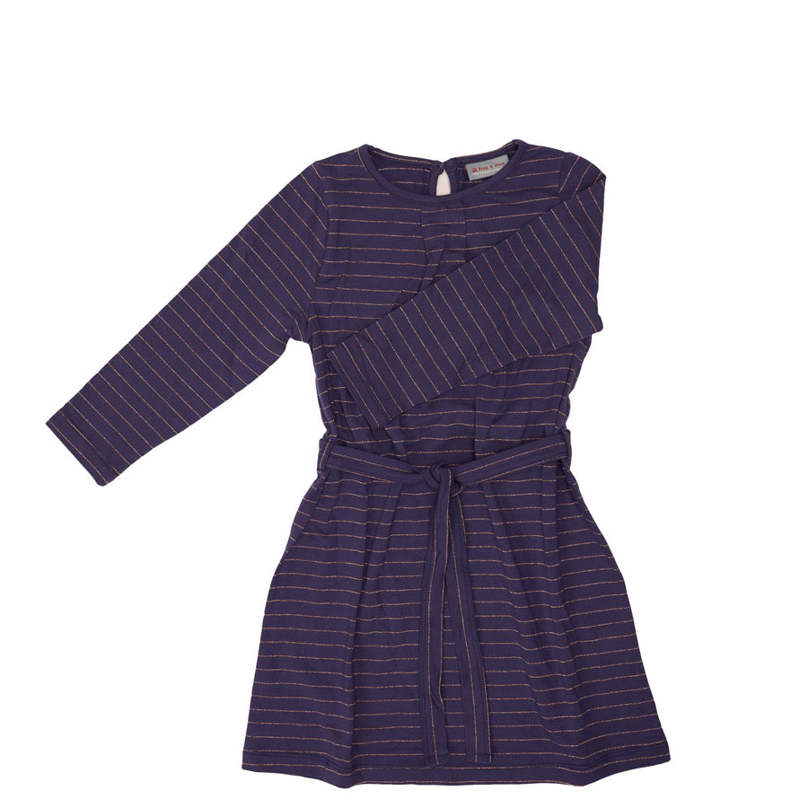 Vestido Dahlia Stripes Purple