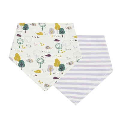 Babero Reversible Retro One Animales & Rayas