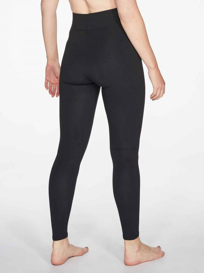 Leggings Heavy Bambú Negro