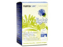 Compresa dry-light para la incontinencia 20 uds Natracare
