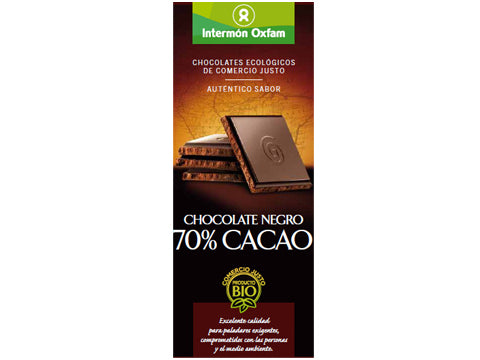 Tableta chocolate Negro 70% bio