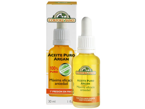 Aceite Natural bio Antiedad Argán 100% puro 30 ml
