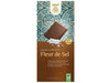 Tableta Chocolate leche Flor de Sal bio