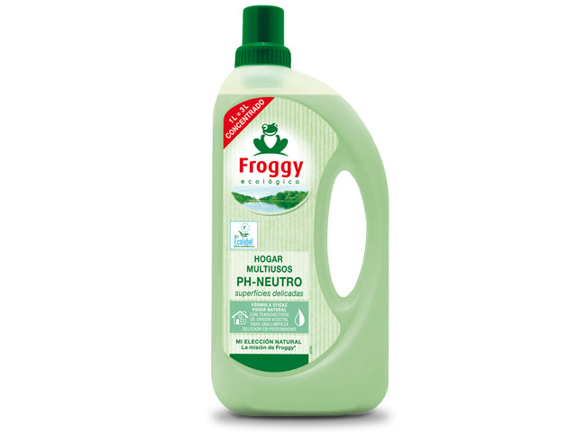 Limpiahogar Multiusos PH-Neutro Froggy 1L.