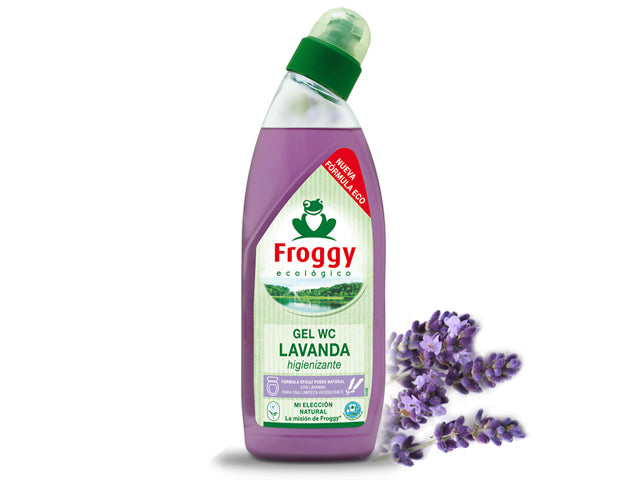 Limpiador WC Gel Lavanda Froggy 750 ml.
