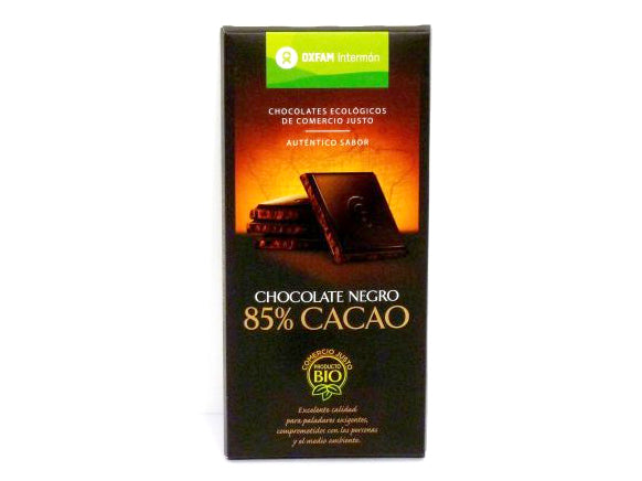 Tableta Chocolate Negro 85% bio