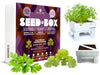 Huerto urbano Seed Box Collection Aromáticas Mediterráneas
