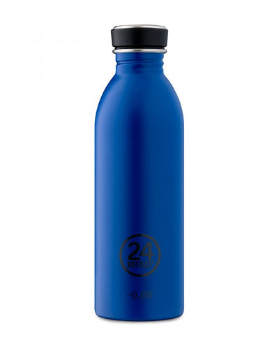 Botella Urban Gold Blue acero inox 0,5L.