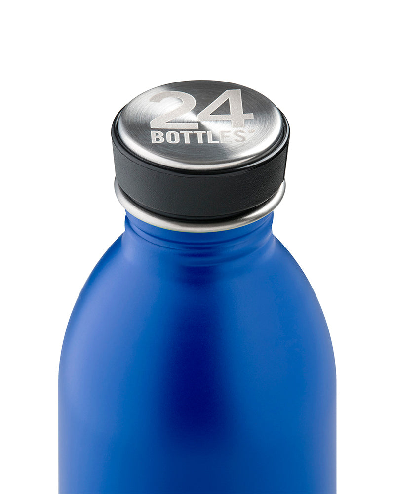 Botella Urban Dark Blue acero inox 0,5L.