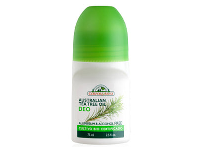 Desodorante roll-on Árbol de Té Australiano 75ml
