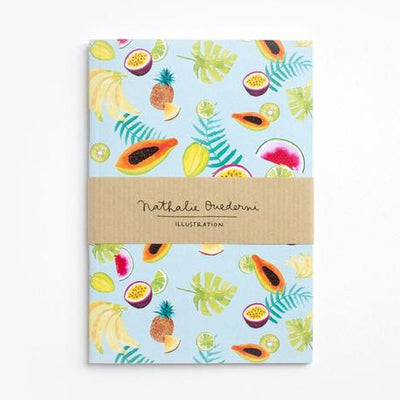 Notebook A6 TROPICAL FRUITS 80p