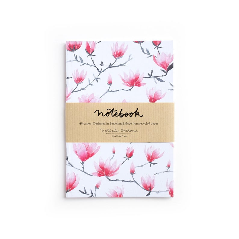 Notebook A6 MAGNOLIAS 80p