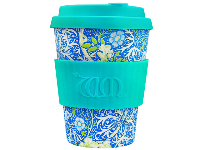 Vaso Ecoffee 340ml William Morris Seawed Marine