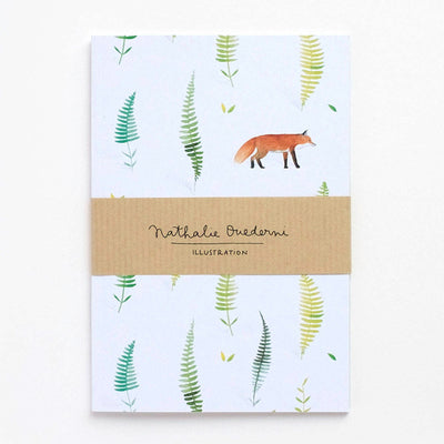 Notebook A6 FOX AND FERNS 80p