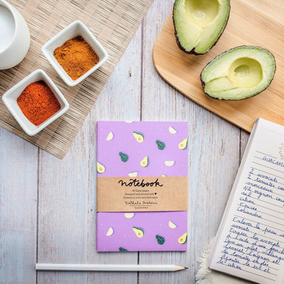 Notebook A6 AVOCADOS 80p