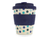 Vaso Ecoffee 250ml Blue Polka