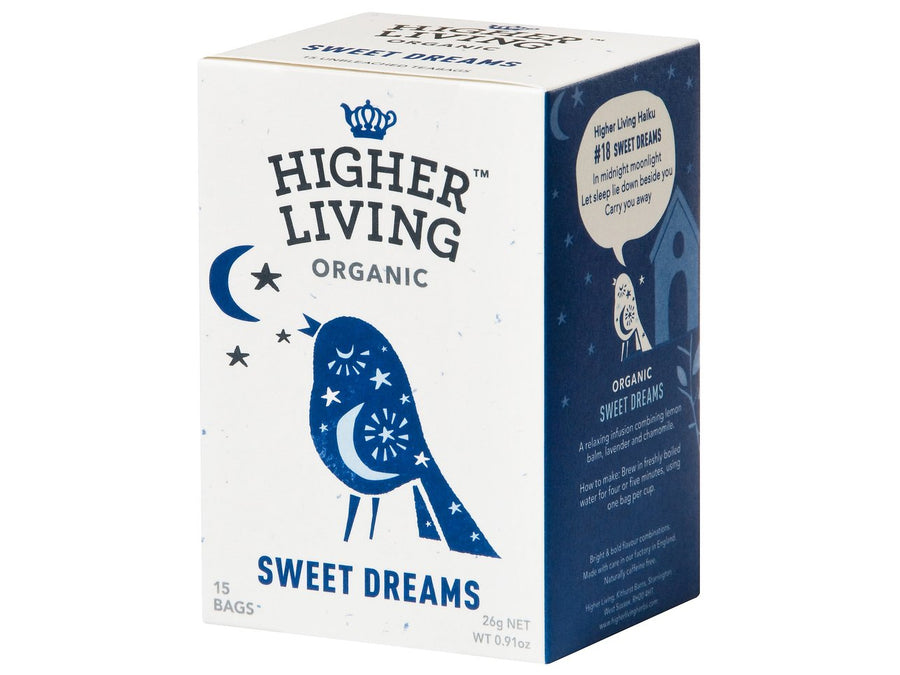Infusión Sweet Dreams Bio Higher Living 15 bolsas