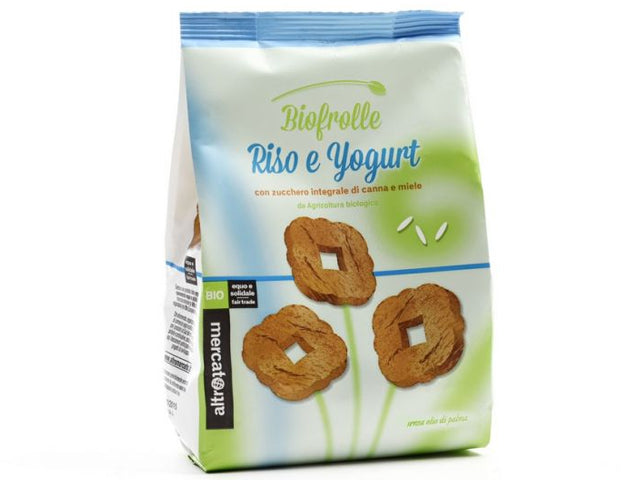 Galletas Biofrolle con arroz y yogur