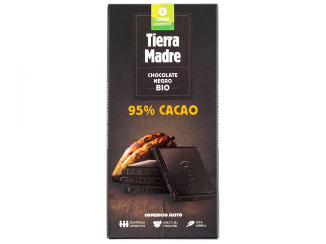 Tableta de Chocolate Negro 95% Bio