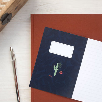 Notebook A6 MIDNIGHT DESERT 80p