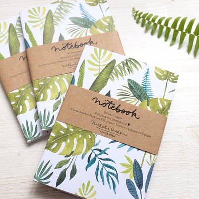 Notebook A6 GREEN JUNGLE 80p