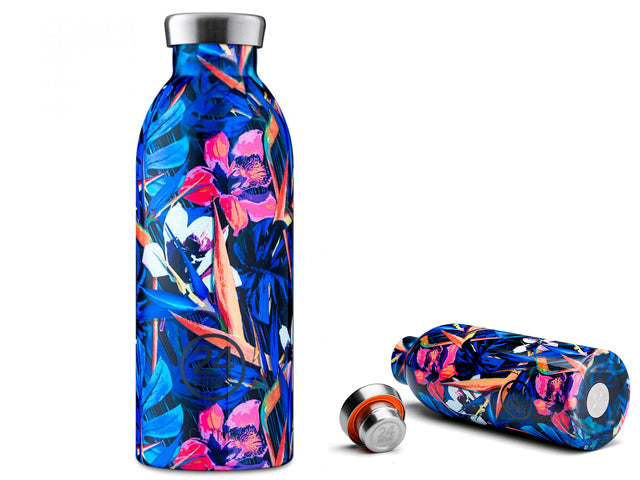 Termo Clima Floral Nightfly acero inox 0,5L.