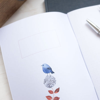 Notebook A5 Blue Bird 80p
