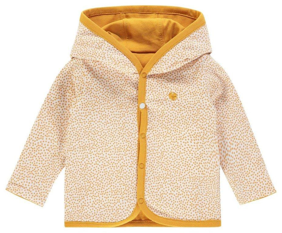 Cardigan Reversible Haye Honey Yellow