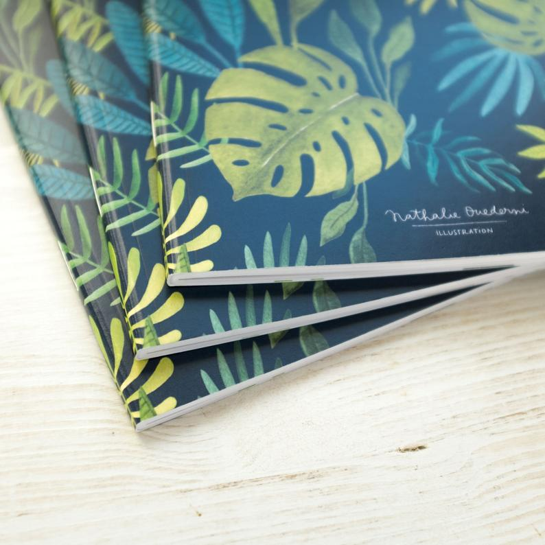 Notebook A5 DARK JUNGLE 80p