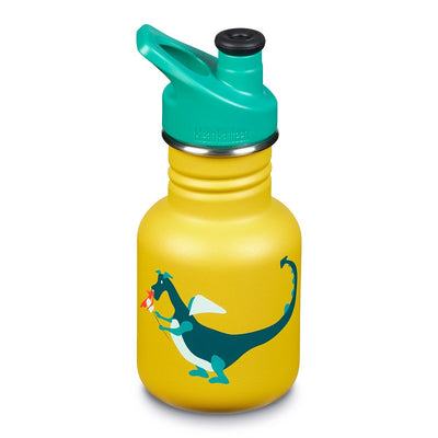 Botella Kid Classic Dragon Snack 355ml. - Tapón Kid Sport 3.0