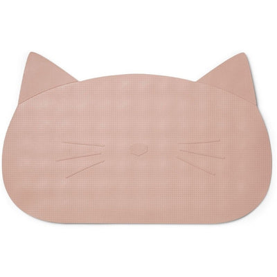 Alfombrilla de baño Storm Cat rose