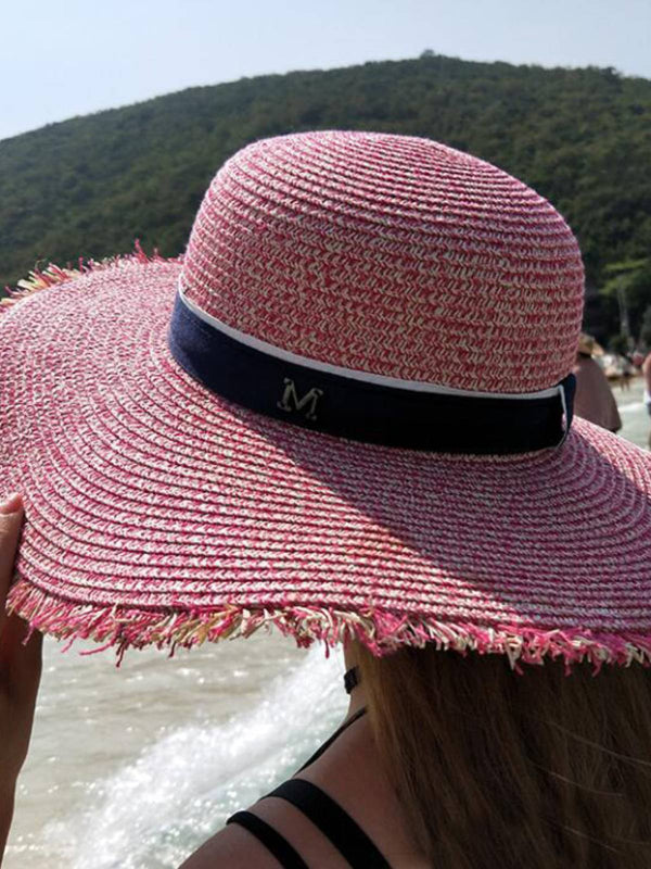 Bohemian Woven Holiday Beach Hat