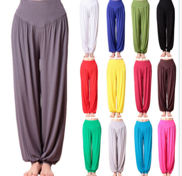 Mostata14 Colors Women Hippie Yoga Pants Gypsy Trousers Baggy