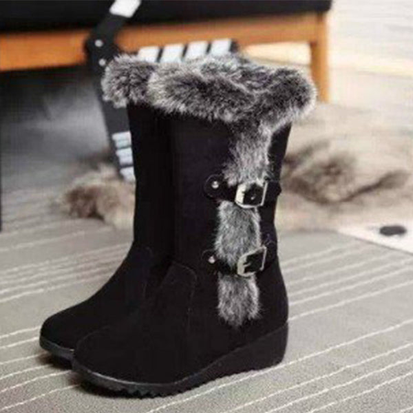 Women Wedge Heel Casual Winter Boots