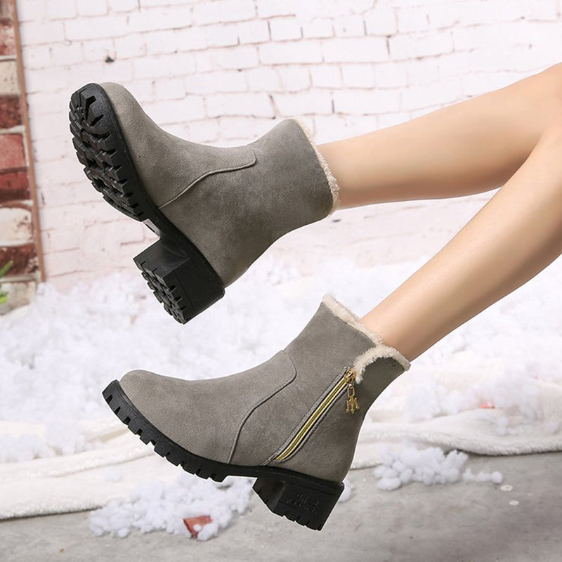 Winter Martin Boots Women New Style Warm Non-Slip Shoes
